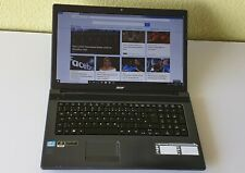 "Acer Aspire 7739G 17,3"" / Intel Core i5  2.67GHz / 8GB RAM ,120GB SSD+750GB HDD"