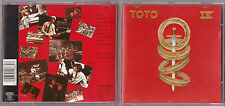 CD 10 TITRES TOTO IV DE 1982  FEAT AFRICA EUROPE