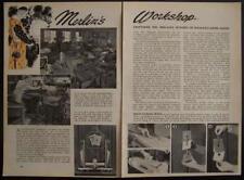 John Synder Magic Shop 1944 Vintage pictorial Ring 71