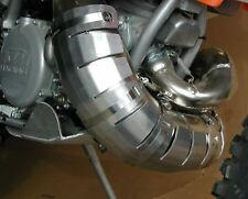 NEW FLATLAND RACING PIPE GUARD KAWASAKI 200 220 KDX YRS 1995-2002 11-06