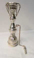 Antique Ornate Egyptian 90% Silver Hookah Top - Signed  ~ Very Pretty ~