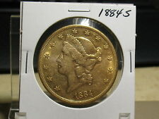 1884-S DOUBLE EAGLE IN NICE CONDITION.
