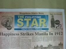 Coca Cola Philippines 100th Anniversary FACSIMILE The Philippine Star Main Cover