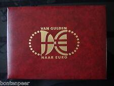 THEMAMAPJE VAN GULDEN NAAR EURO MET 2 ENVELOPPE 31-12-2001 EN 1-1-2002 GESTEMPEL