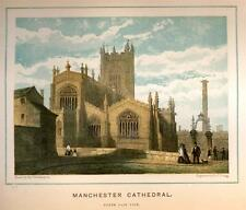 MANCHESTER CATHEDRAL EXTERIOR -1880- North East View