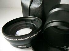 KAW BK 52mm 0.45X Wide-Angle Lens + Adapter Tube For Konica Minolta Z3 Z5 Z6