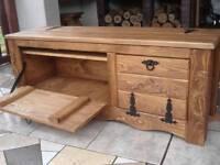 Wooden Shoe Box Cupboard Cabinet Rack Hallway Pine Storage Seating Bench (IL3)