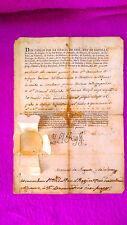 Document Officiel,c.Supérieur ,le Roi Charles IV,M.de Negrete,Comte de la Union