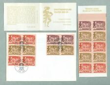 Sweden. Fdc + Booklet Swedish.Mnh.1966. Dronningholm Court Theatre. Cz. Slania