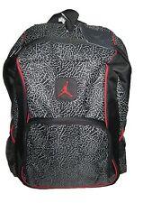 9ae2a023c Nike Air Jordan Jumpman 23 Backpack 9a1223 391 Black Red Cement Elephant  Print