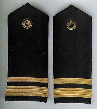 Pair Obsolete Canadian Navy Sub Lieutenant Shoulder Boards
