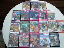 19x PC-CD-ROM-Games/Spiele-Sammlung: USK frei- Für Kinder und die ganze Familie