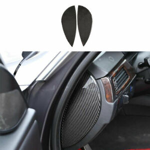 For BMW 3-Series E90 2005-2012 Real Carbon Fiber Dashboard Both Sides Panel Trim