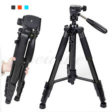 Zomei Q111 Pro Light Aluminum Travel Tripod + Pan Head Stand fr Camera Camcorder