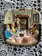 """Royal Doulton Beswick Lmt. Edition """" Christmas In England� Plate First Ed. 1972"""
