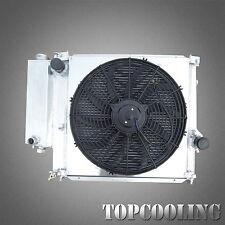 Aluminum Radiator + Fan Shroud For E36 3 Series 318 320 325i Z3 M44 M42 MT 91-02