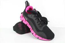 Reebok Women's Zig Dynamica Sneakers Size 9.5 Black/Proud Pink/Silver Metallic