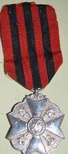 BELGIQUE Médaille civique de deuxième classe (Argent)