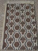 Fine Embroidered Indian Kashmir Shawl %100 Wool Pashmina Cashmere #01
