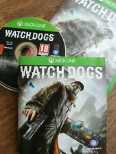 Watch Dogs (Xbox One 3rd Person Action Thriller Shooter) Uncut Game wie NEU!!!