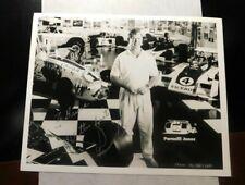 PARNELLI JONES NASCAR AUTOGRAPH PROMO PHOTOGRAPH -  TO  BRUCE!  FF369DSH2