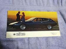 1977 1978 Lotus Elite original sales brochure NEW NOS OEM