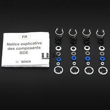 4 Set Fuel Injectors Seals Repair Kit Bosch For VW GLI GTI Tiguan AUDI A4 2.0T
