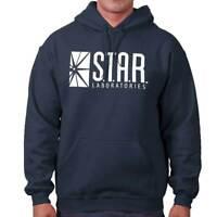 Star Labs The DC Flash Comics Superhero Reverse CW Hoodie Sweatshirt
