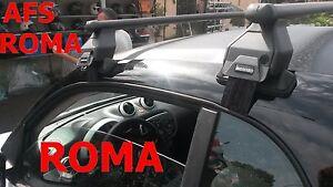 BARRE PORTATUTTO AFS PER SMART FORTWO ANNO 2009 OMOLOGATO TUV MADE IN ITALY