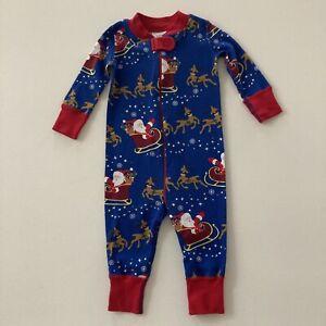 Hanna Andersson Baby Boy 6-9 Months Holiday Christmas Pajamas Organic Cotton