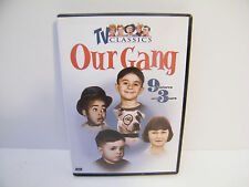 TV Classics OUR GANG ~ 2004 DVD ~ 9 features over 3 hours