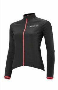 NEW - Capo Siena Midweight Thermal Jacket, Black/Magenta, Women's S