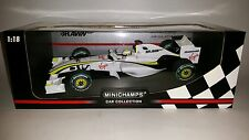 Minichamps F1 Brawn GP BGP 001 Jenson Button 1/18 World Champion 2009 Australia