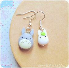 Orecchini Totoro ~ Cute Miyazaki Ghibli Earrings Fimo Polymer Clay My Neighbor