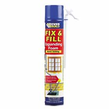 EVERBUILD FIX & FILL EXPANDING FOAM & FILLER 750ml - BOX OF 12