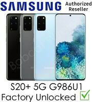 Samsung Galaxy S20+ Plus 5G G986U1 AT&T T-Mobile Sprint Verizon Factory Unlocked