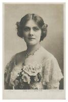 Antik Bedruckt Postkarte Miss Lilie Brayton Schauspielerin Singer Theater Bühne