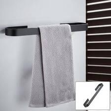 Toilet Towel Rail Rack Holder Stainless Steel Wall Mounted Bathroom Hanger Shelf