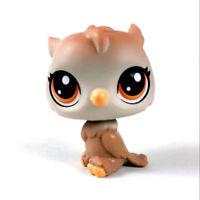 original Littlest Pet Shop LPS OWL Bird Hasbro animal cute Figure baby toy doll