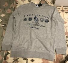 H16 Sweat Logo 2 Parks Icons Grey/ Parks Icons Grey XXL Disneyland Paris