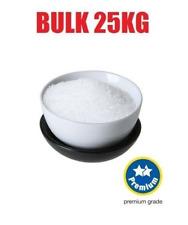 Bulk EPSOM SALTS 25Kg - Premium Bath Grade -  Multipurpose / Therapeutic