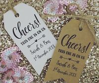 Party Drinks Tokens / Tickets, Gift Tags, Wedding Favour, Free Drink