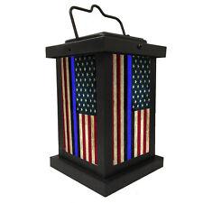 Brotherhood® Light of Hope for law Enforcement Flag - RWB Black Blue Line