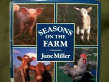Seasons on the Farm by Jane Miller (1986, Hardcover) HTF OOP