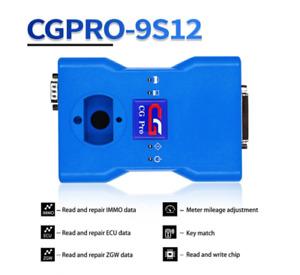 CG Pro 9S12 Progarmmer Full Version Read&Write IMMO/ECU Mile-age Adjustment Tool