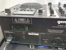 GEMINI CDM-3650 DJ MIXING CONSOLE, TWIN CDJ - CD / MP3 PLAYER