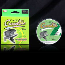 100M Nylon Fishing Line Transparent Super Strong Monofilament Durable Tackle New