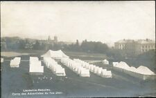 7th Seventh-Day Adventist Church Camp, Tents, Lausanne, Switzerland ?1920s RP