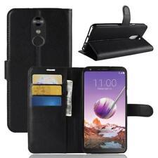Funda para el LG Stylo 4 Libro Cover Wallet Case-s bolsa Negro