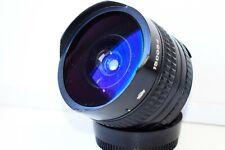 KMZ ZENITAR-M SLR 16mm f/2.8 USSR Fish-EYE lens Nikon F mount EXC
